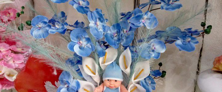 Hoşgeldin Bebek (mavi)