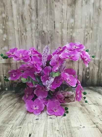 tabakda yapay orkide