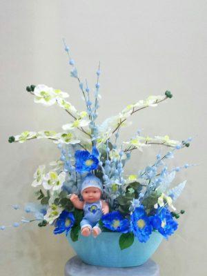 ısparta  yeni bebek ziyaretlerinde tercih edebileceğiniz bi çiçektir. yiğitbaşı çiçek olrak vereceginiz adrese teslim edilir
